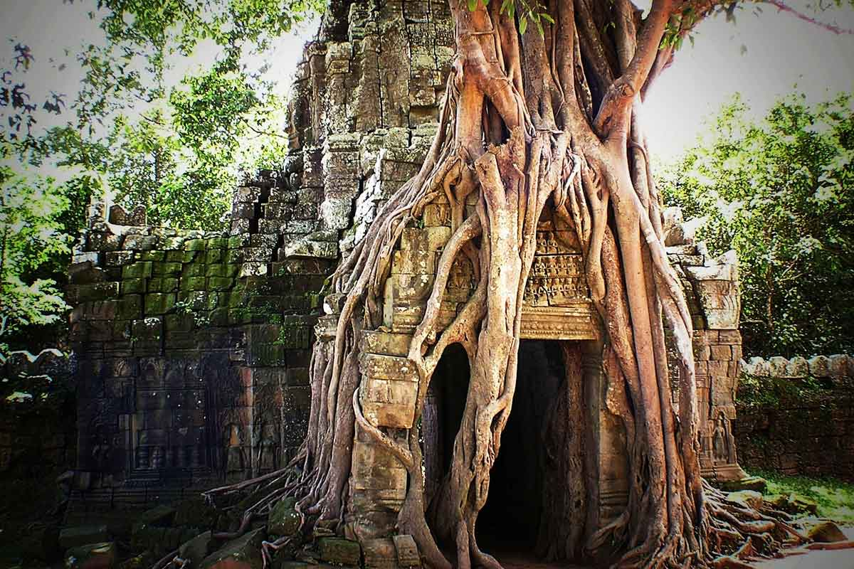 temples d'angkor au Cambodge- voyages incontournables
