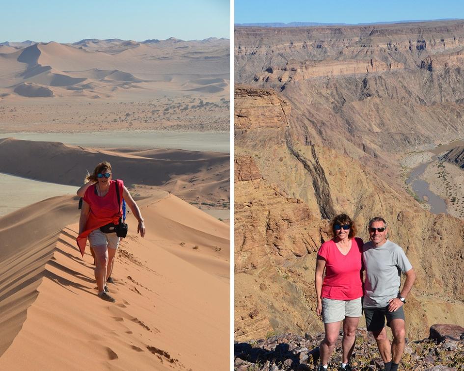 Expérience de voyageur en Namibie