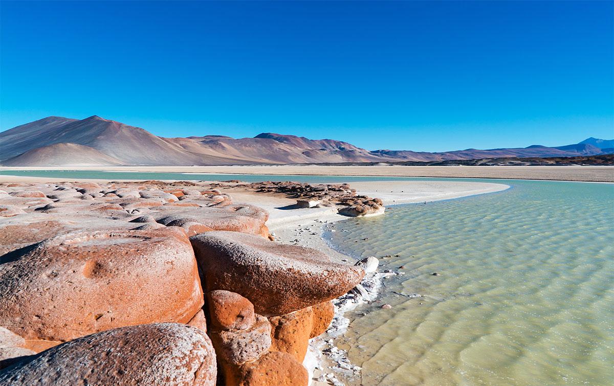 Piedras Rojas Atacama Chili
