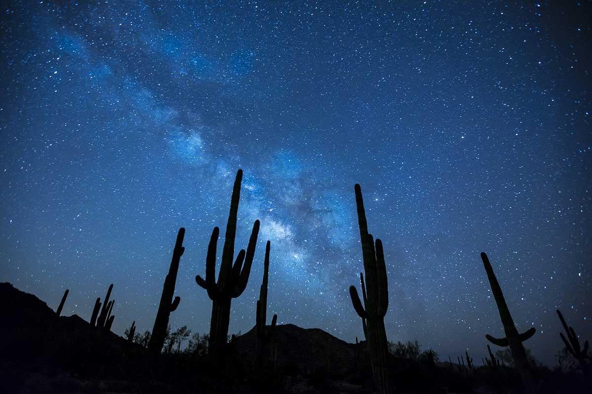 voie lactée ciel chili