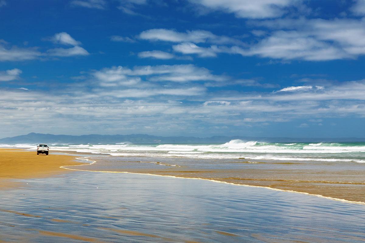 Ninety Mile Beach Nouvelle Zelande