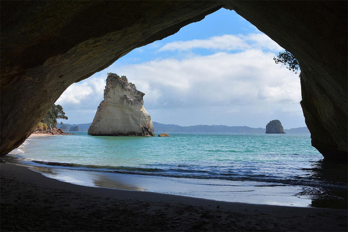 cathedral Cove nouvelle zelande