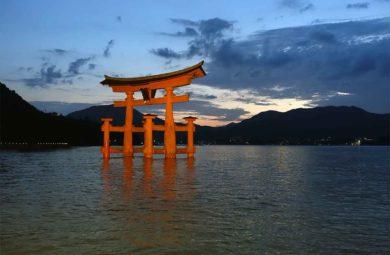 tori istukushima japon