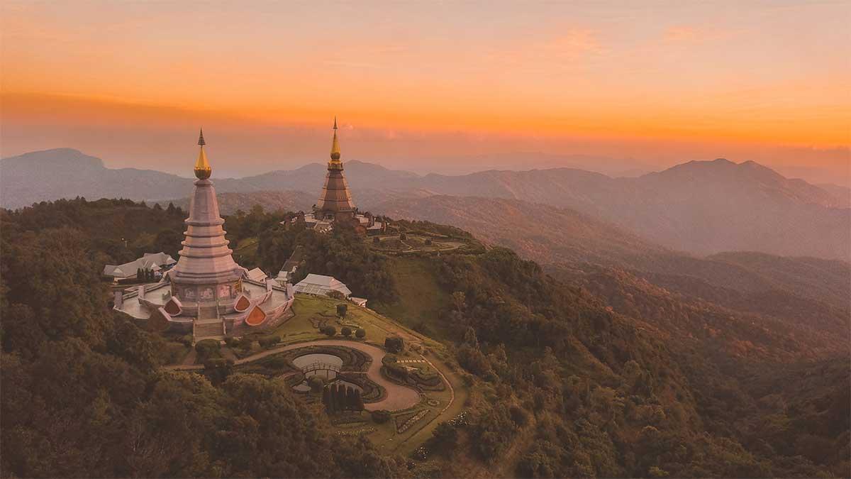 Doi Inthanon Nord de la Thailande