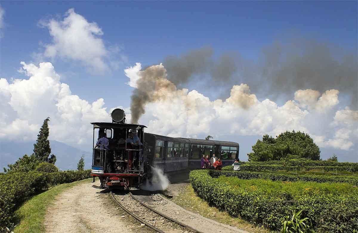 train à Darjeeling