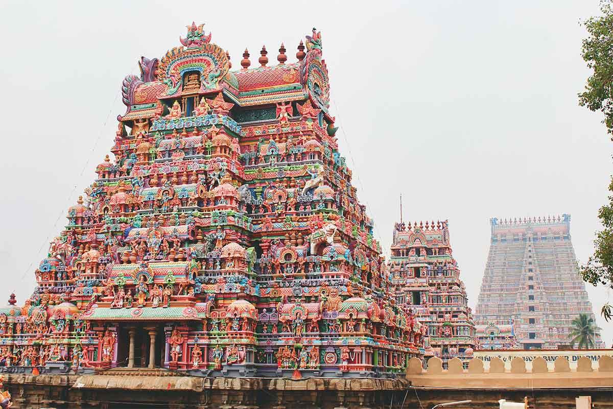 Temple Kapaleeshwarar en Inde region de chennai