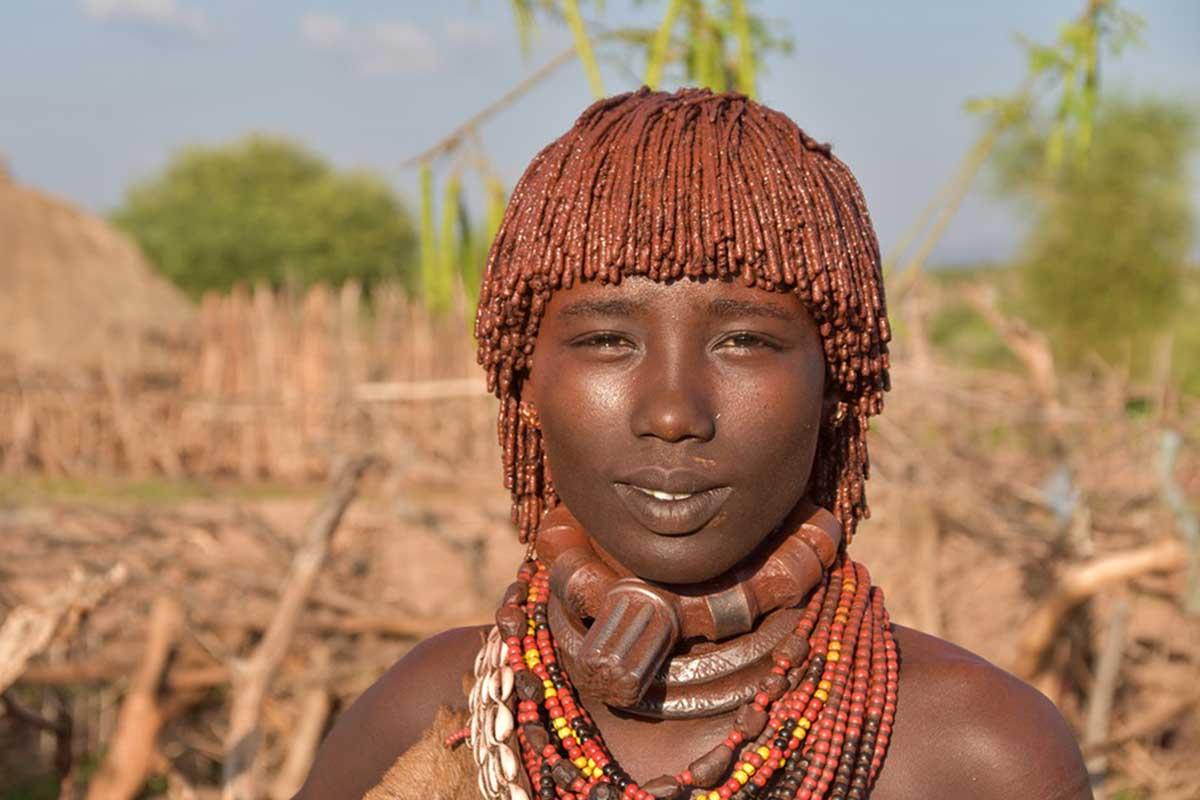 Un jeune local en Ethiopie