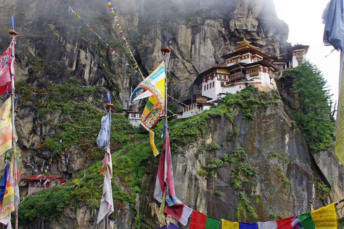 Takshang au Bhoutan
