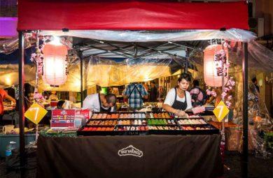stand de street food à Phuket