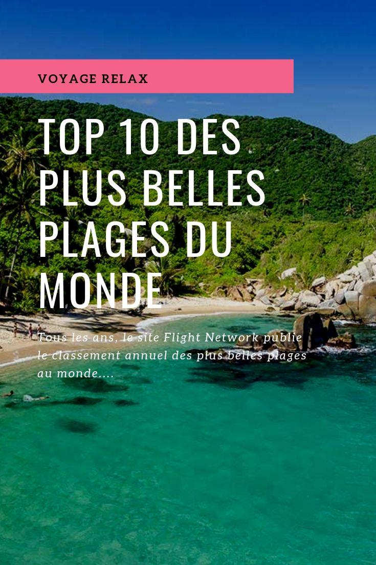 couverture des plus belles plages du monde