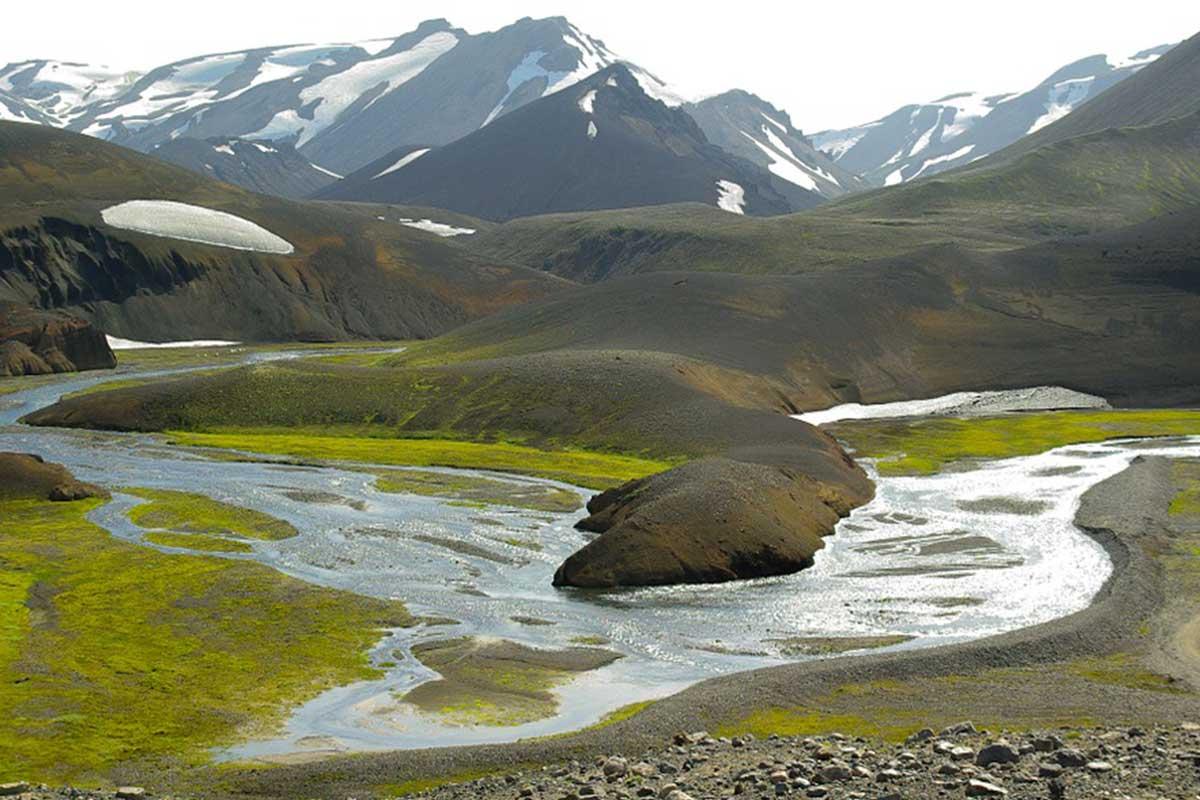 Montagnes de Landmannalaugar