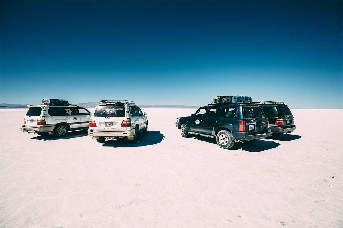 excursion sur le salar de Uyuni en bolivie