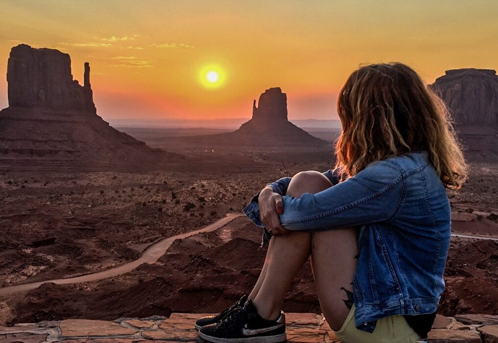couché de soleil monument valley