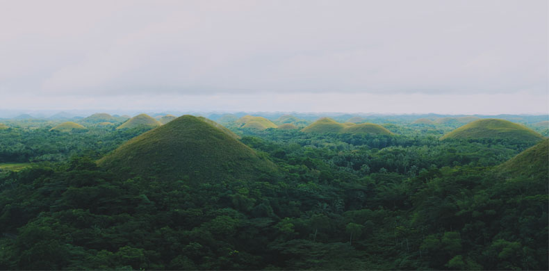 Chocolate Hills aux Philippines