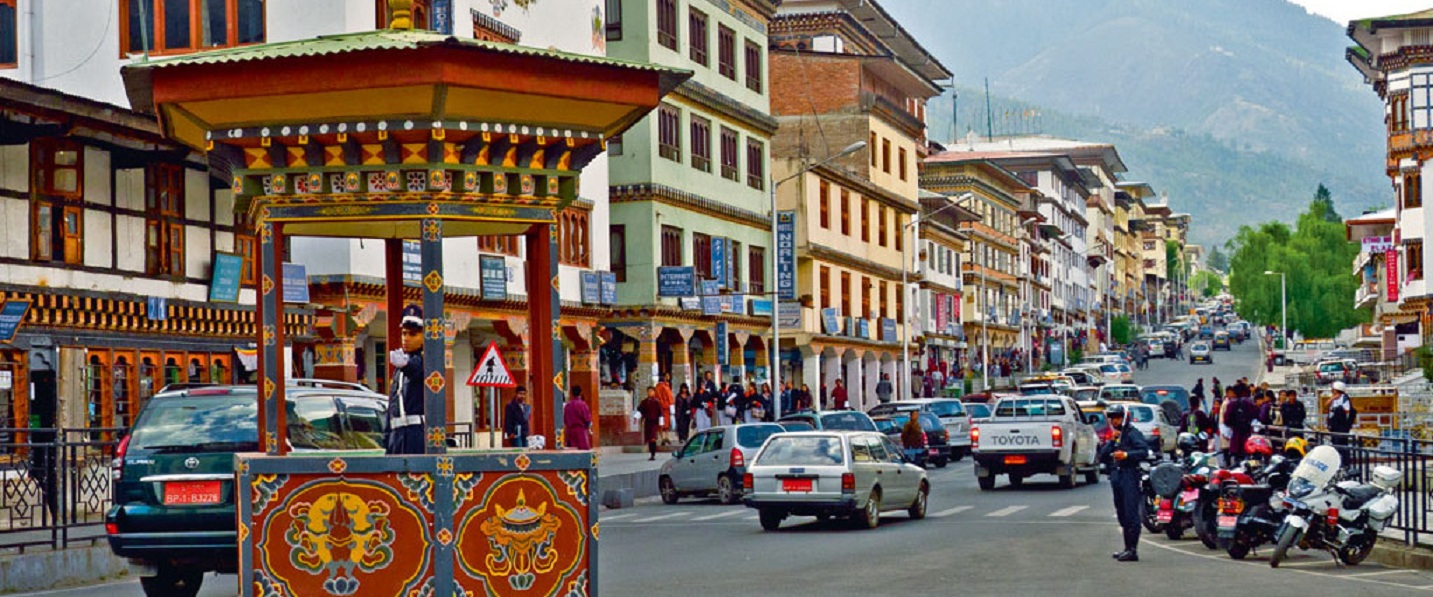 Thimpu-town-traffic