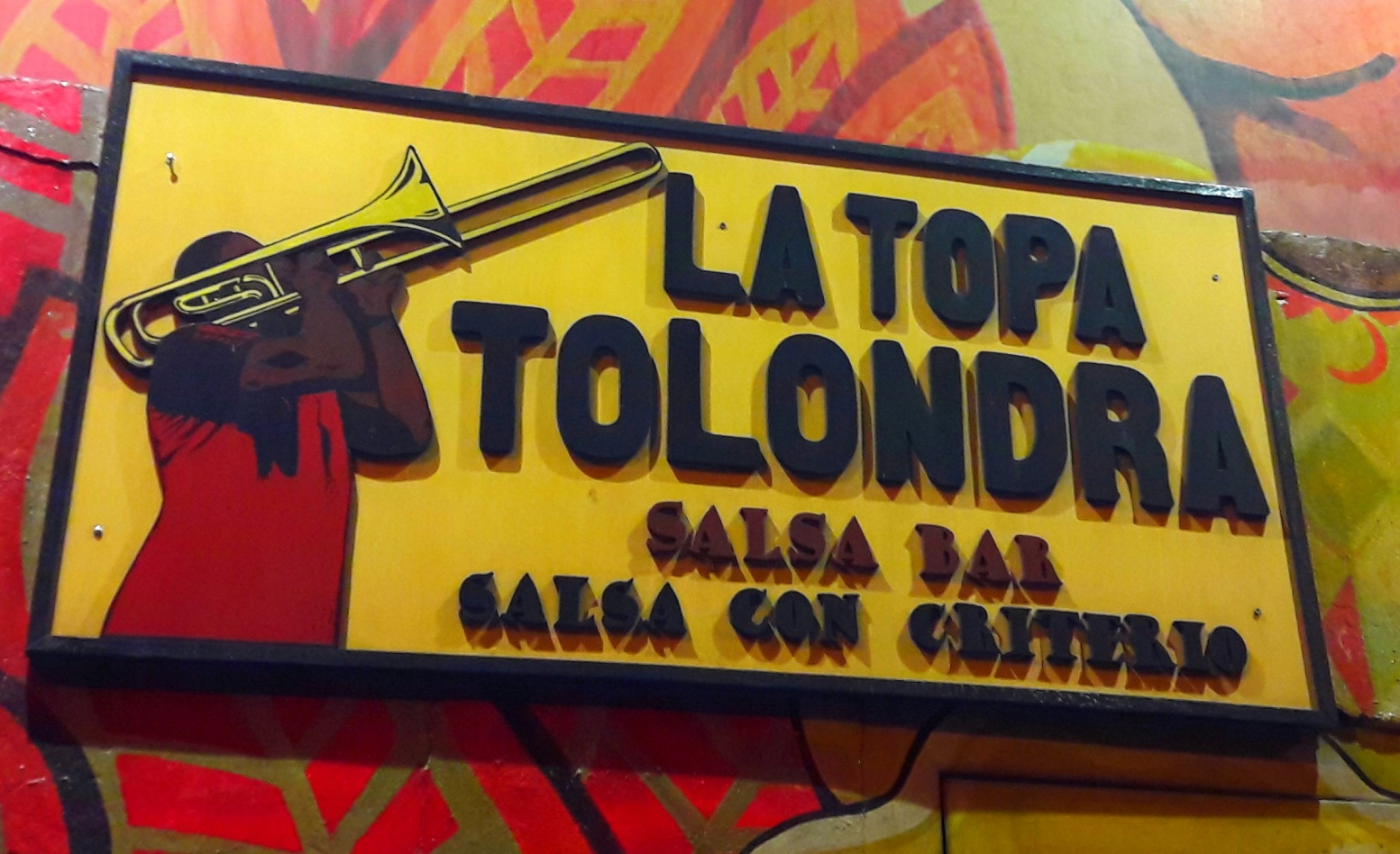 La Topa, une institution de la salsa.